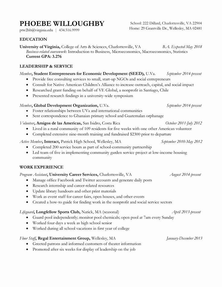 Resume Objectives for Teacher Inspirational Resume Samples