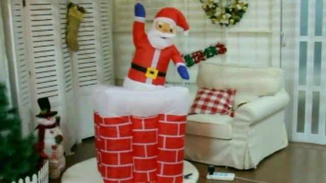 Video Décoration de Noël gonflable, père Noël gonflable dans sa cheminée  Sur la boutique du gonflable en ligne: https://www.m2bgonflable.com/e-store/  Découvrez notre rubrique spéciale pour Noël , des décorations gonflables de Noël intérieure extérieur, des Pères Noël gonflable mais aussi des bonhommes de neige gonflable, des sapins de Noel gonflable, des arches de Noël gonflable suivez ce lien: https://www.m2bgonflable.com/e-store/  La boutique du gonflable c'est aussi une section…