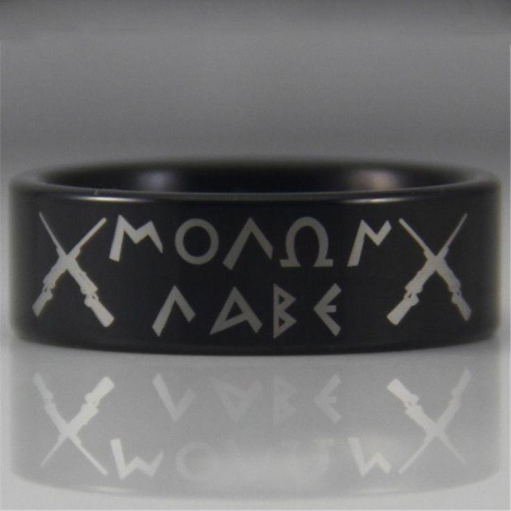 Come and take them or Molon Labe Tungsten ring #molonlabe #comeandtakethem