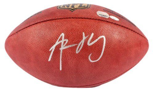 Aaron Rodgers Autographed Football - Holo - Mounted Memories Certified - Autographed Footballs by Sports Memorabilia. $499.99. Aaron Rodgers Autographed Football - NFL Game Ball - MM Holo. Aaron Rodgers's amazing stats prove why he's one of the best to play the game. Only a small number of these pieces were created, and each one comes with a numbered hologram. Authenticity has always been a concern among memorabilia collectors, and you can be sure that all of ou...