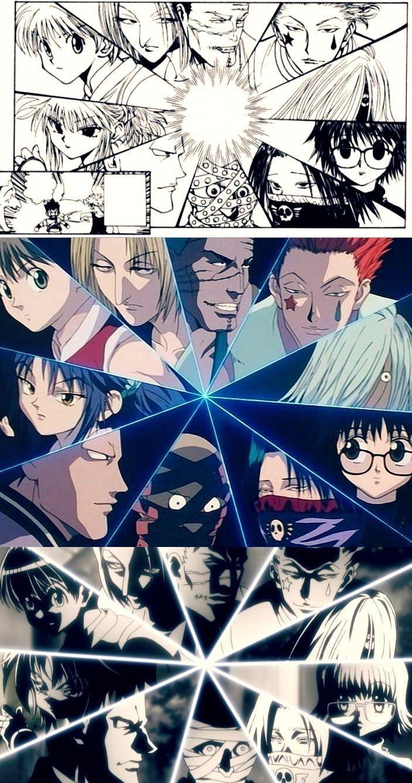 Phantom Troupe comparison | Manga | 1999 | 2011 |       ~Hunter X Hunter