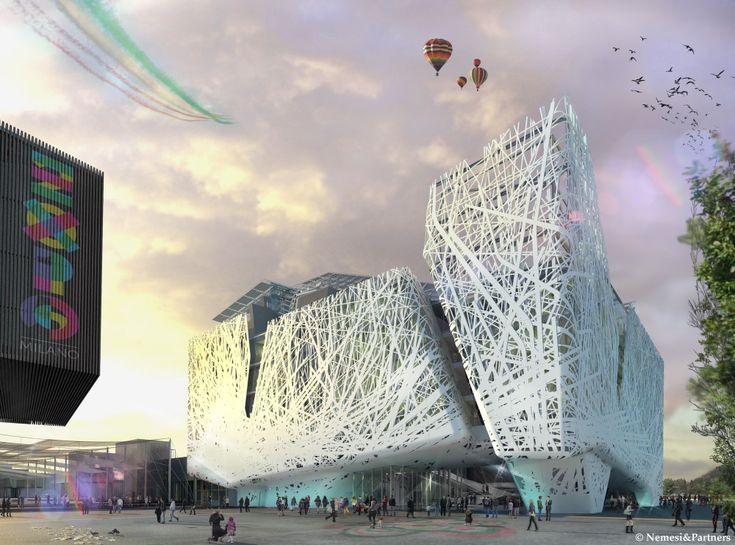 Milan Expo 2015: Nemesi & Partners Reveal Smog-Eating Pavilion for Italy