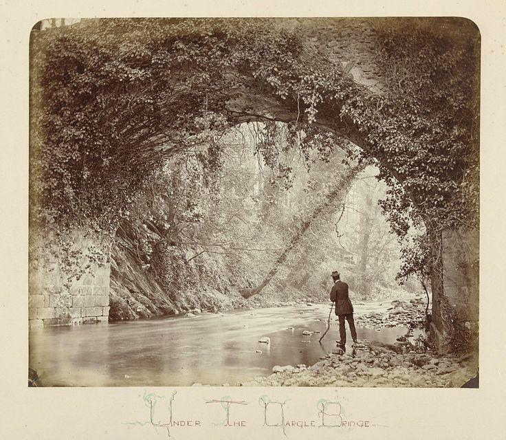anoniem | Landschap met brug, Ierland, possibly John Payne Jennings, 1867 |