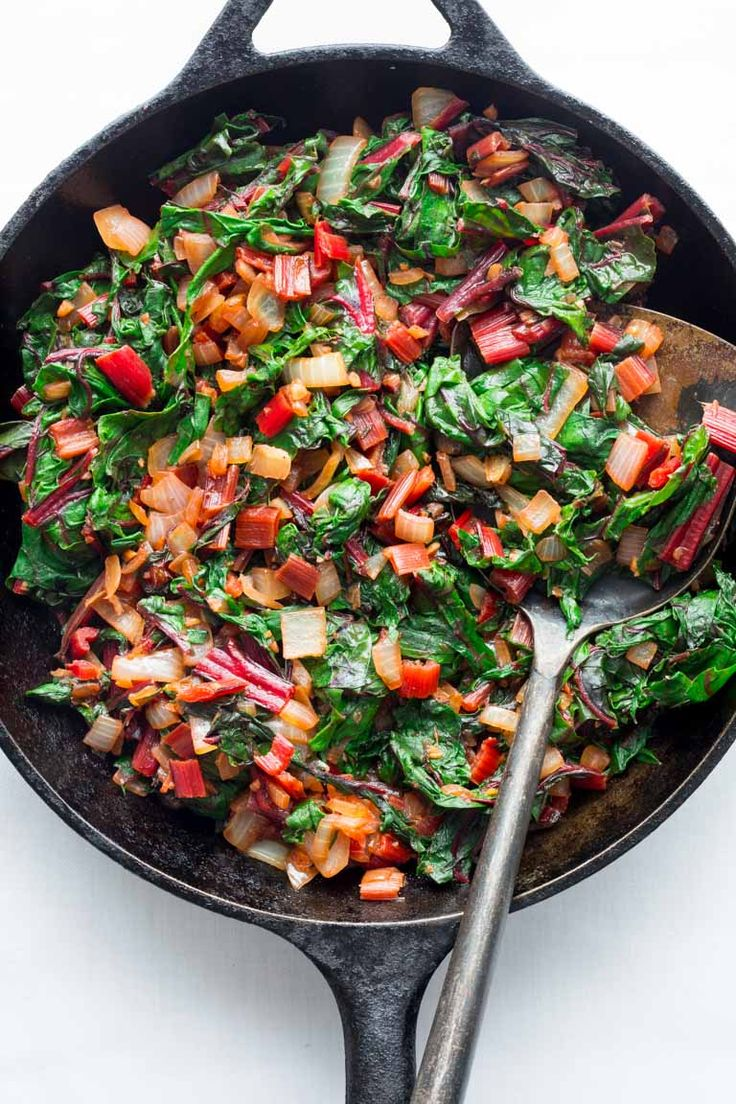 how to prepare chard for cooking