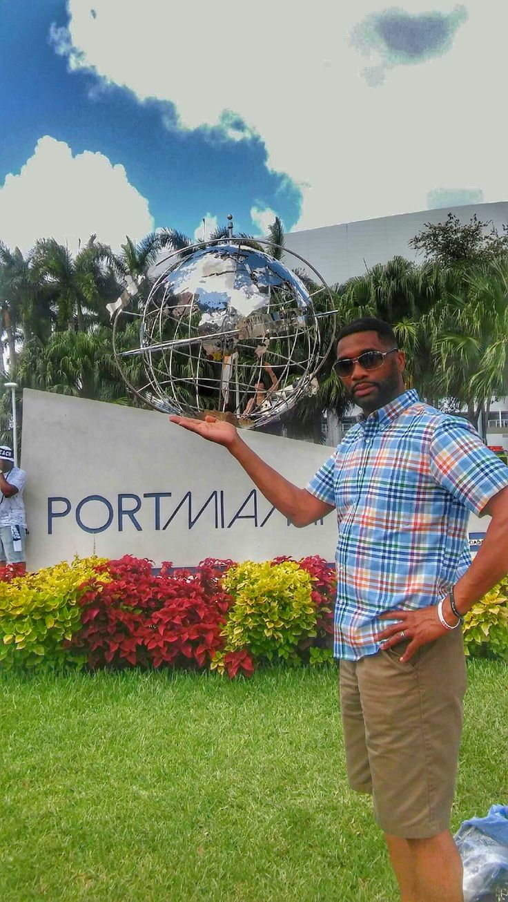 Totally #rocking the #vannawhite pose at the #portofmiami. The #energy of #miami rivals all. #fun in the #sun. I truly #love the #beach #life as I do not get along with #cold #weather at all. Where can we go to find 85-degree weather year round?