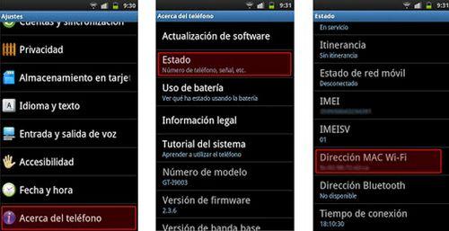 Android: Saber la dirección IP en android asignada a cada dispositivo