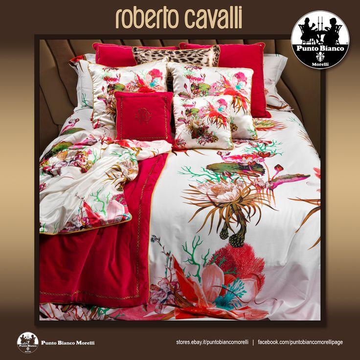 ROBERTO CAVALLI   CARAIBI Lenzuola, sopra sotto e due federe - Full bedsheet
