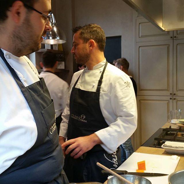 Andrea Mattei and Andrea Ferrari, 2 extraordinary chefs of The Borgo Cooking School