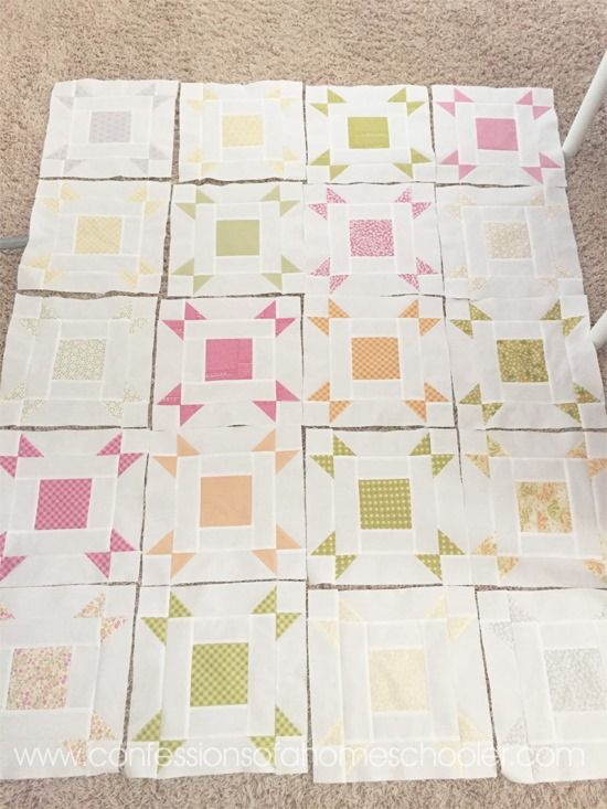 Hi friends! I have a really fun and super easy (a.k.a. beginner friendly) FREE quilt pattern to share with you guys today! Whoohoo! It's called the Layer Cake Pop Quilt by Fat Quarter Shop. I've been hoarding the Sunkissed line by Sweetwater Fabric for a couple of years now, and I finally found a pattern that I thought would do…