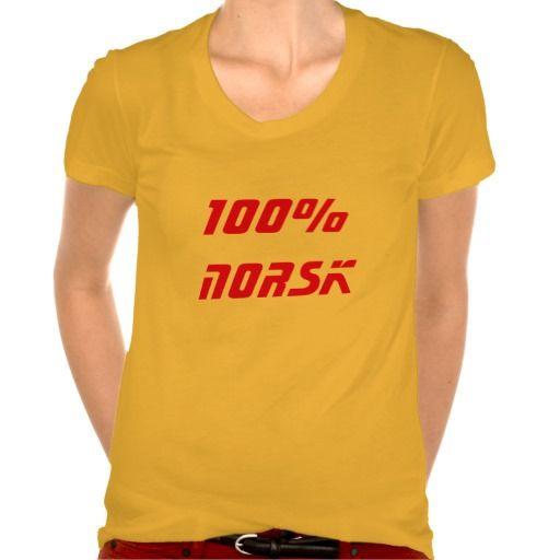 100% Norwegian