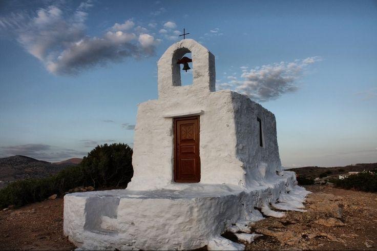 We ♥ Greece | Agia Marina, Parakopi, Syros island #Greece #chapel #greekislands #explore #destination