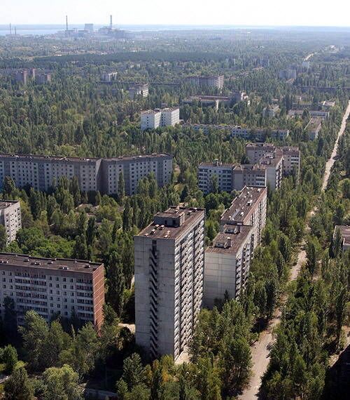 Pripyat, Ukraine. The entire city was abandoned back in 1986 cause of a neculare problem. So all the buildings are still standing, everything was just left. I want to go here some day. Poputation before accident was 50,000