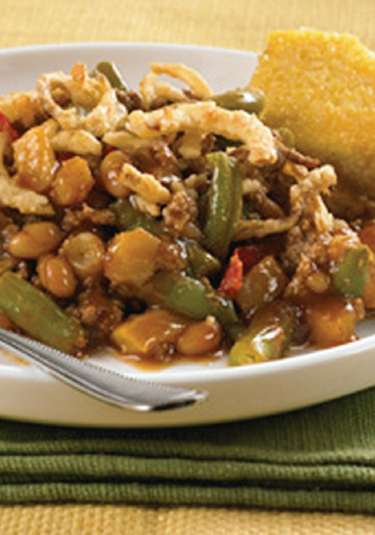 Barbecue Beef and Beans Casserole – try this summer recipe for ...