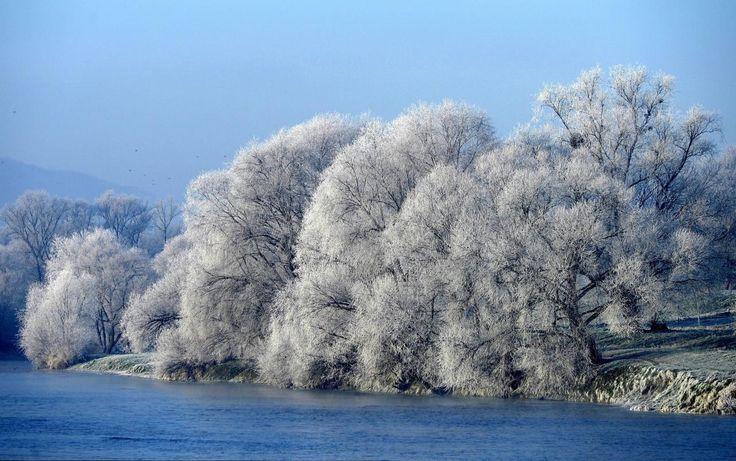 24.11 Matinée glaciale dans l'est de la Pologne.Photo: epa/Darek Delmanowicz