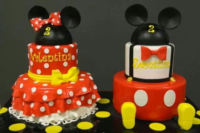 Minni and Micky birthday cakes                                                                                                                                                                                 More