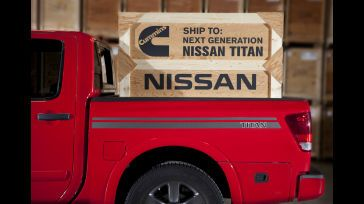 Nissan to Equip Next-Generation Titan Pickup with New Cummins Turbo Diesel Engine