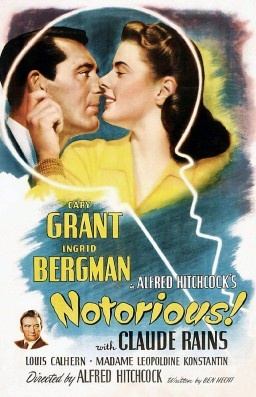 Notorious movie poster in Best Movies of 1940-1949