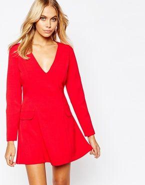 Love A Line Mini Dress with Pockets