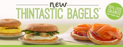 Thintastic Bagels replace Einstein Bros. / Noah's Bagel Thins.
