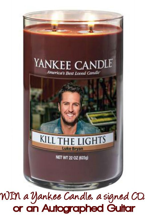 "Yankee Candle Luke Bryan ""Kill the Lights"" Sweepstakes"
