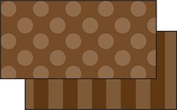 Brown Sassy Solids Double Sided Border by Frog Street Press (Fst3149)