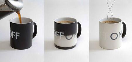 On/Off Mug - color changing mug
