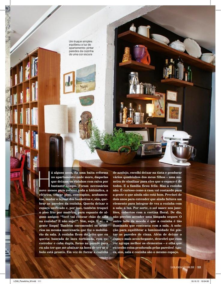 Inspiração cozinha da Rita Lobo  Decoração  Pinterest # Decoracao Cozinha Rita Lobo