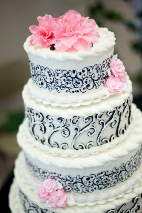 Not going to lie...my cakes were one of my favorite parts of my wedding! 1. Because it's cake. 2....Do I need another reason?