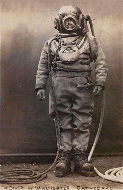 El Buzo: Tres siglos de viaje submarino: la evolución del traje de buzo