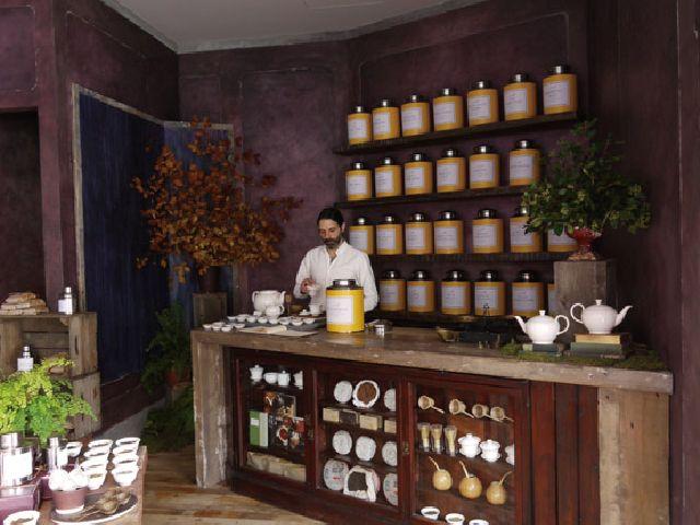 紅茶専門のショールームとアトリエを兼ねたお店をみつけたよ | roomie(ルーミー)