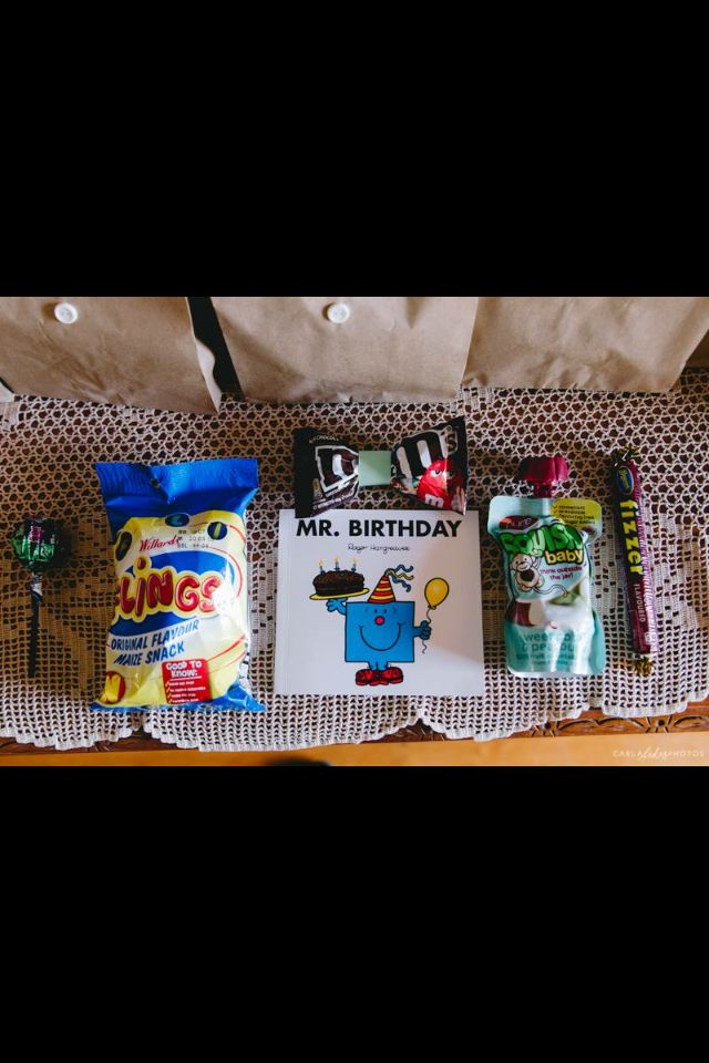 Little man party packs