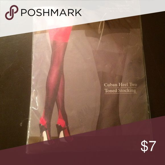 Cuban Heel Two Tined Stocking Leg Avenue Cuban Heel Two Tined Stocking Leg Avenue Accessories Hosiery & Socks