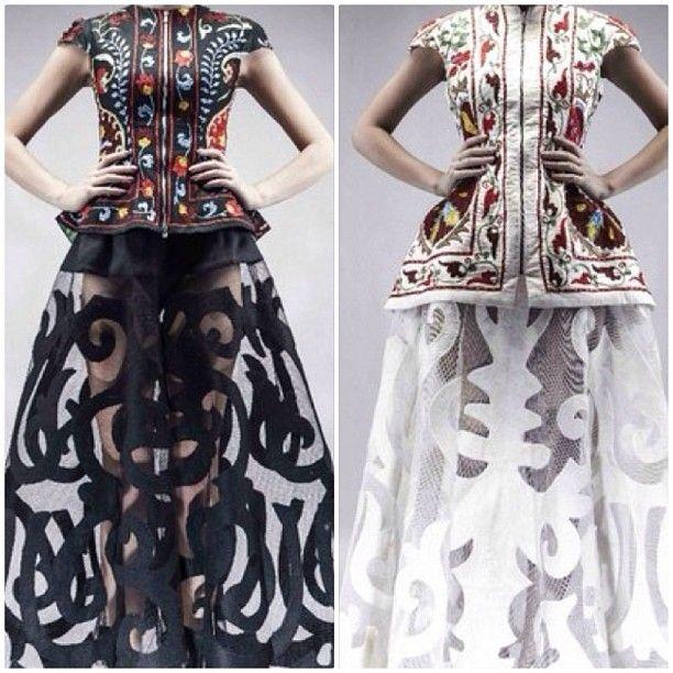 Баян Есентаева Aya Bapani брендінің көйлегінде #ayabapani #kfw#kazakhstanfashionweek #bayanesentaeva