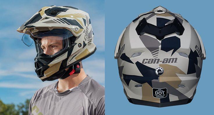 Can-Am Enduro helmet graphics 2016