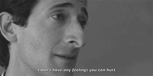 "Detachment (2002) ""I don't have any feelings you can hurt."""