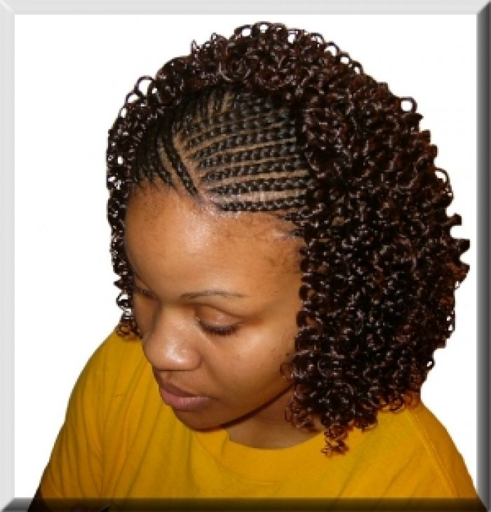 Excellent Cornrows Black Hairstyles And Curly Weaves On Pinterest Short Hairstyles For Black Women Fulllsitofus