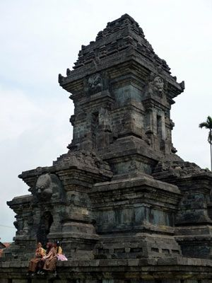 Singosari Temple in Malang, East Java, Indonesia