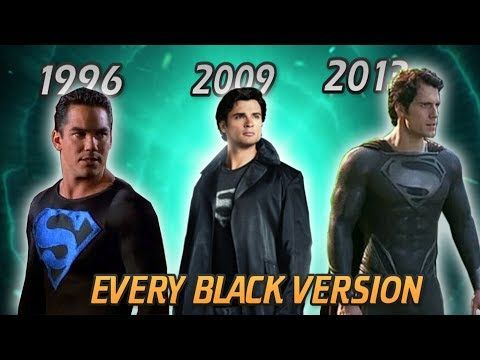 (661) EVERY LIVE-ACTION SUPERMAN SUIT EVER (INCLUDING BLACK VERSIONS) UP TILL JUSTICE LEAGUE 2017 - YouTube