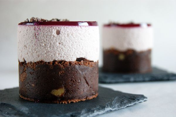 Brownies med Hindbærfromage