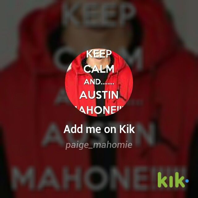 If you have kik messaging chat with me (paige_mahomie)