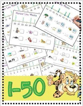 Number Line Phonics 1-50 (ee/ea)   Vowel Digraphs, Number Lines ...