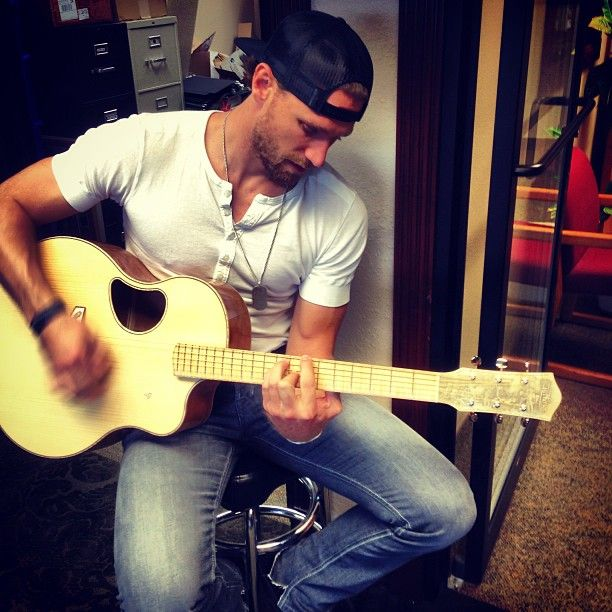 Chase Rice and that backwards hat