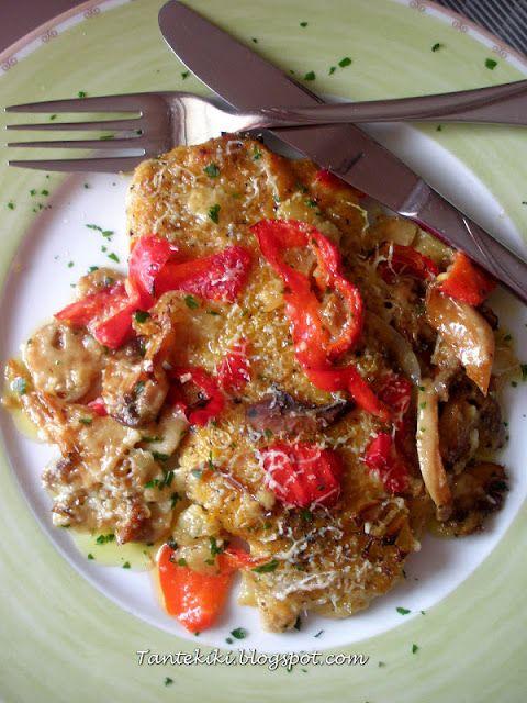 Tante Kiki: Χοιρινό σνίτσελ τσιγγάνικο στο φούρνο