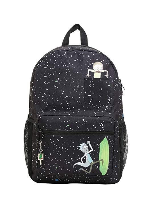 46cec2792d Rick And Morty Portal Pocket Backpack