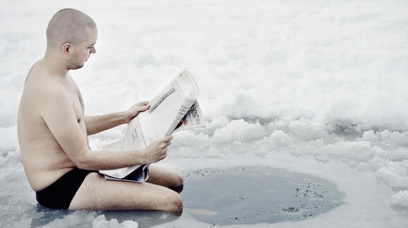 For the Finns, ice swimming is a popular winter custom. Would you do it?: Finland Funny, Moo Finland, Photo Inspiration, Mornings Saunas, Ice Swim, Suomi Finland, Labels People, Ja Sisu, Newspaper
