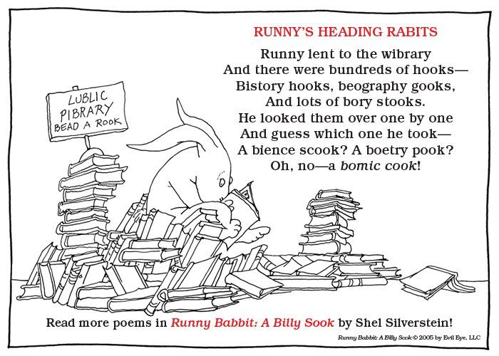 Shel Silverstein Reading Quotes: 190 Best Library Funny Images On Pinterest