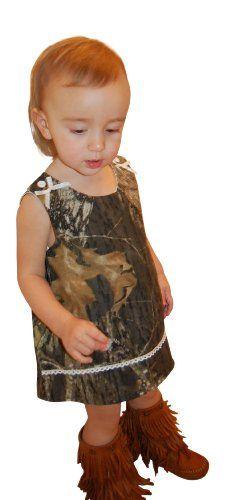 Mossy Oak Camo Dress Infant Baby Toddler Girls Camouflage Jumper Dress & Panty 6M-4T (12M, Mossy Oak) Camo Chique Bundled Set http://www.amazon.com/dp/B00FF57E7M/ref=cm_sw_r_pi_dp_Q.6mub1T211TB