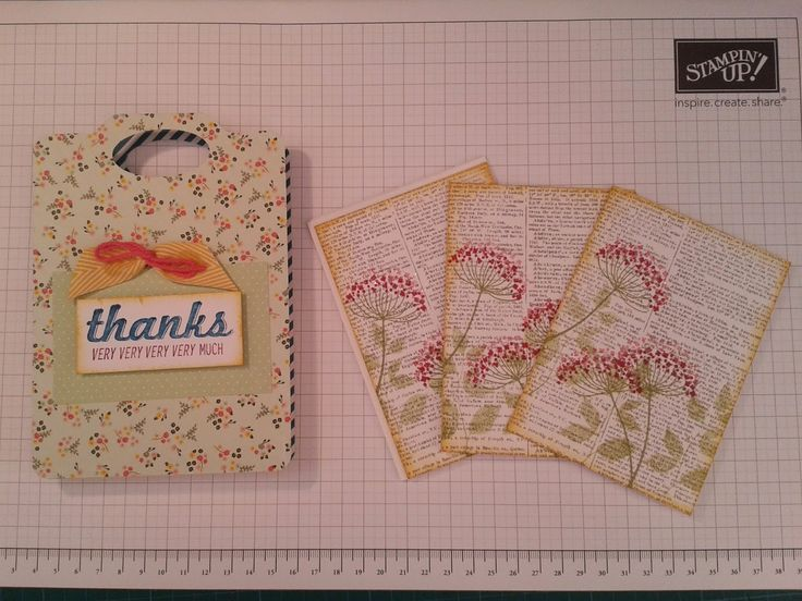 We used the Envelope Punch board to make these supergift bag panelsby simply getting a piece of DSP paper stack ...