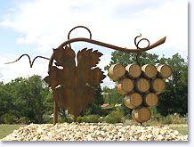 Saint Pantaleon les Vignes, tros druiven