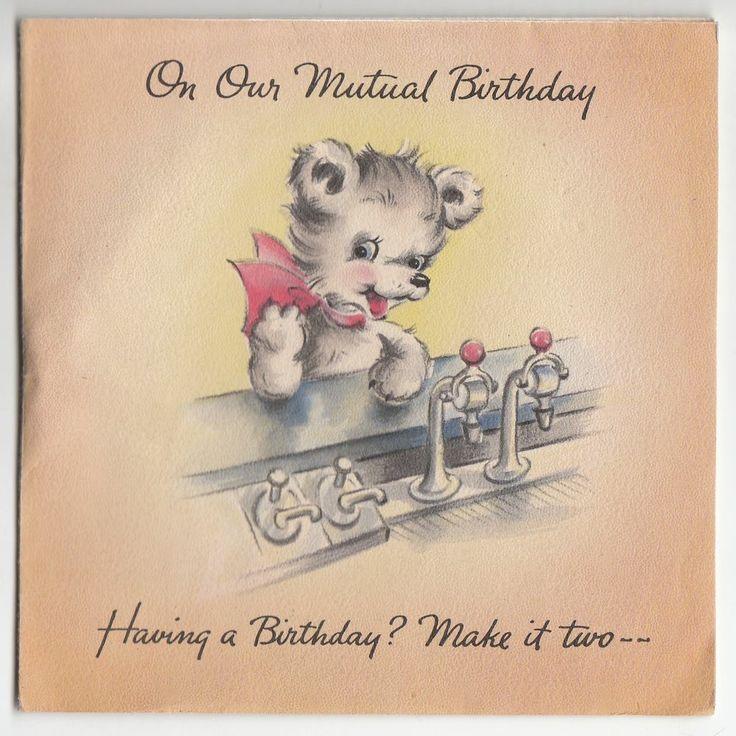 402 best VINTAGE GREETINGS BIRTHDAY images – Drinking Birthday Cards